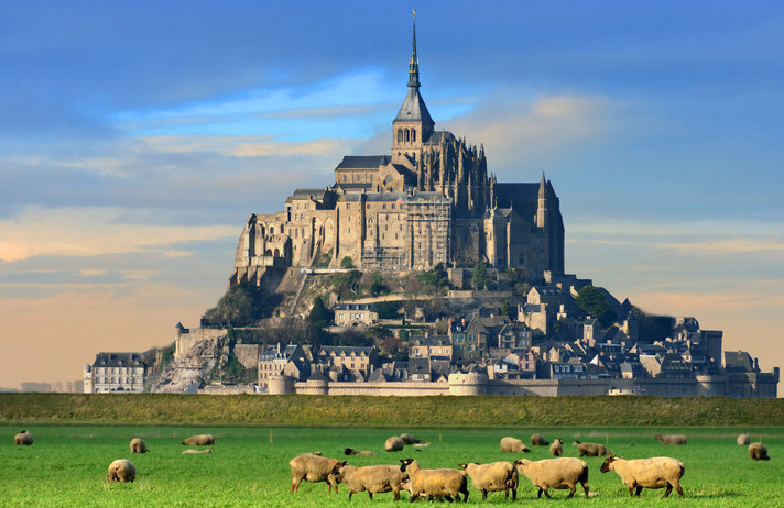 NORMANDIE - Mont-Saint-Michel - Caen